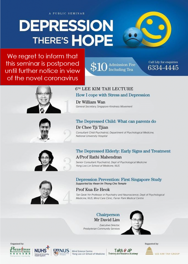 Depression - There's Hope Seminar